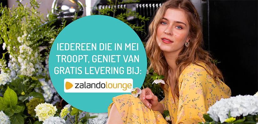 Ga via Trooper naar Zalando en krijg een gratis levering bij Zalando Loung